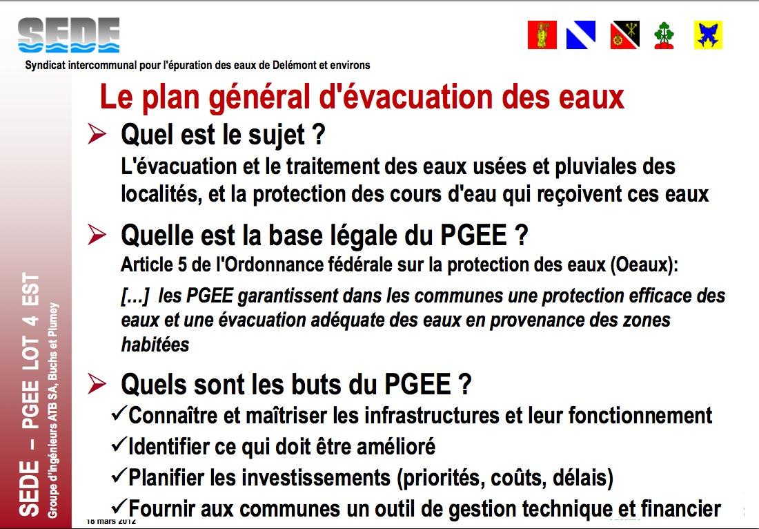 hacked by keteh pgee plan g n ral d 39 vacuation des eaux pr sentation et dossier mars 2012. Black Bedroom Furniture Sets. Home Design Ideas